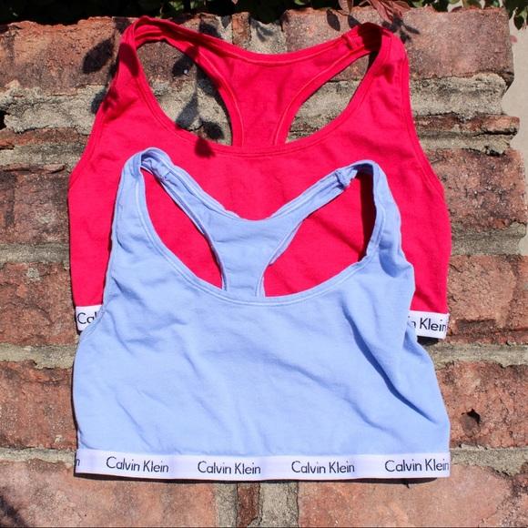 Calvin Klein Other - 🛑 LAST CALL Bundle of Two Calvin Klein Bralettes